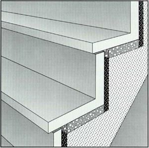 info b merkblatt verlegung betonwerksteinstufen. Black Bedroom Furniture Sets. Home Design Ideas
